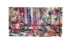 8-8-08~Found Wood,Paint~13x2x10