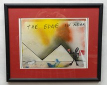 The Edge is Near~Acrylic on Paper~17X14