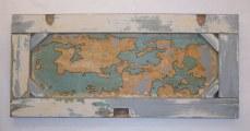 The New World~Found Object,Sharpie~24X1X16
