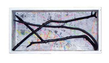 Paris 2008~Found Objects,Paint~20x5x10