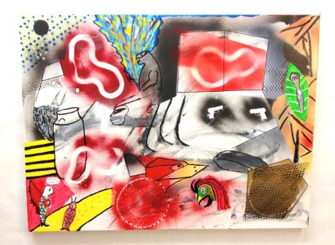 Post-Istanbul~Acrylic on Canvas~24X18