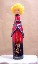 Bud Bottle Blondie~Found Objects~2X12