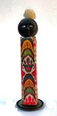 Small Totem Figure~Mixed Media~3x10.5