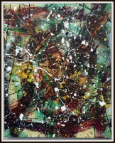 Abstract Friday~Mixed Media on Canvas~16X20