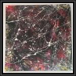 Abstract Thursday~Mixed Media on Canvas~20X20