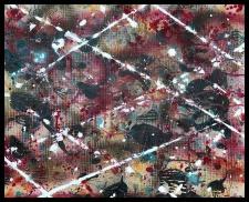 Nexus II~Mixed Media on Canvas~20 x 16