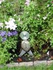 Garden Figure~Found Metal~