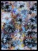 Chrysanthemun XI~Mixed Media on Canvas~12x16