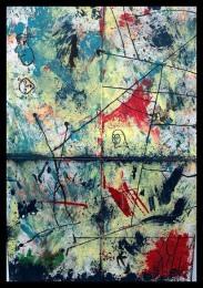 Lucid Dream I~Mixed Media on Canvas~24 x 16