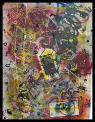 Lucid Dream XI~Mixed Media on Canvas~24 x18
