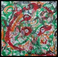Lucid Dream X~Mixed Media on Canvas~12x12