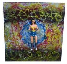 Wonder Woman~Mixed Media~11x11