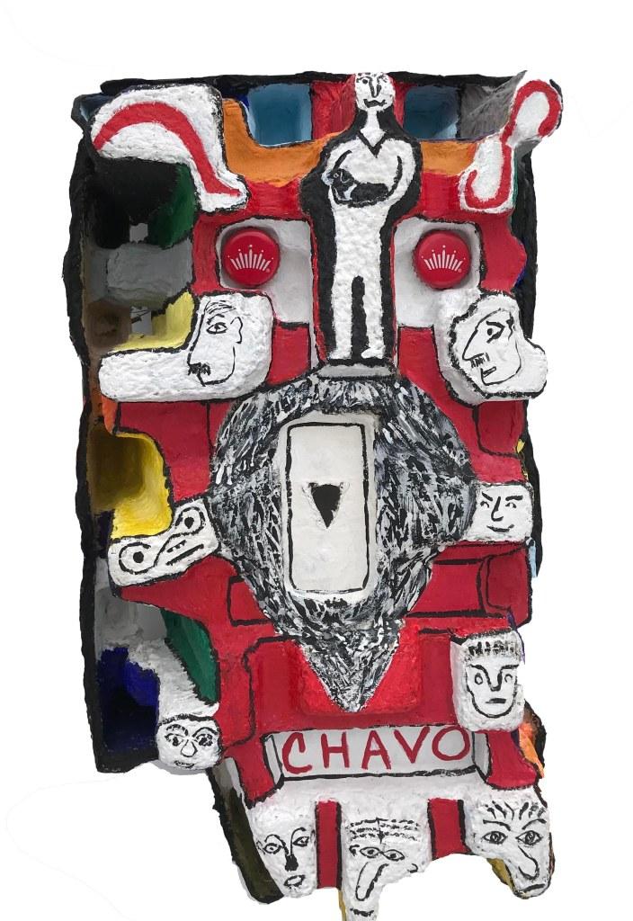 Chavo_Mixed Media_9.5x17x4.5X1